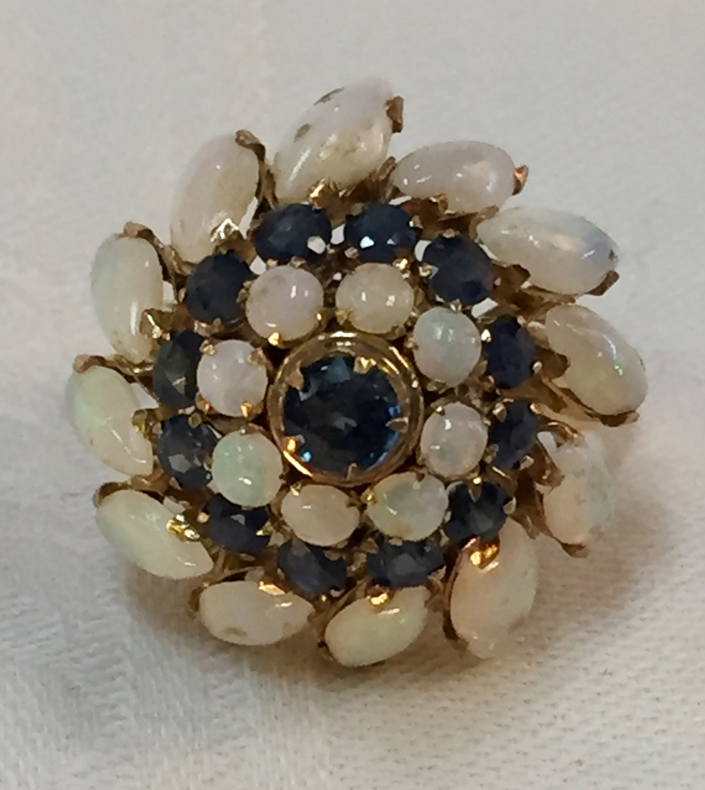 gold flowers sapphire tanya item full opal ring natural r s