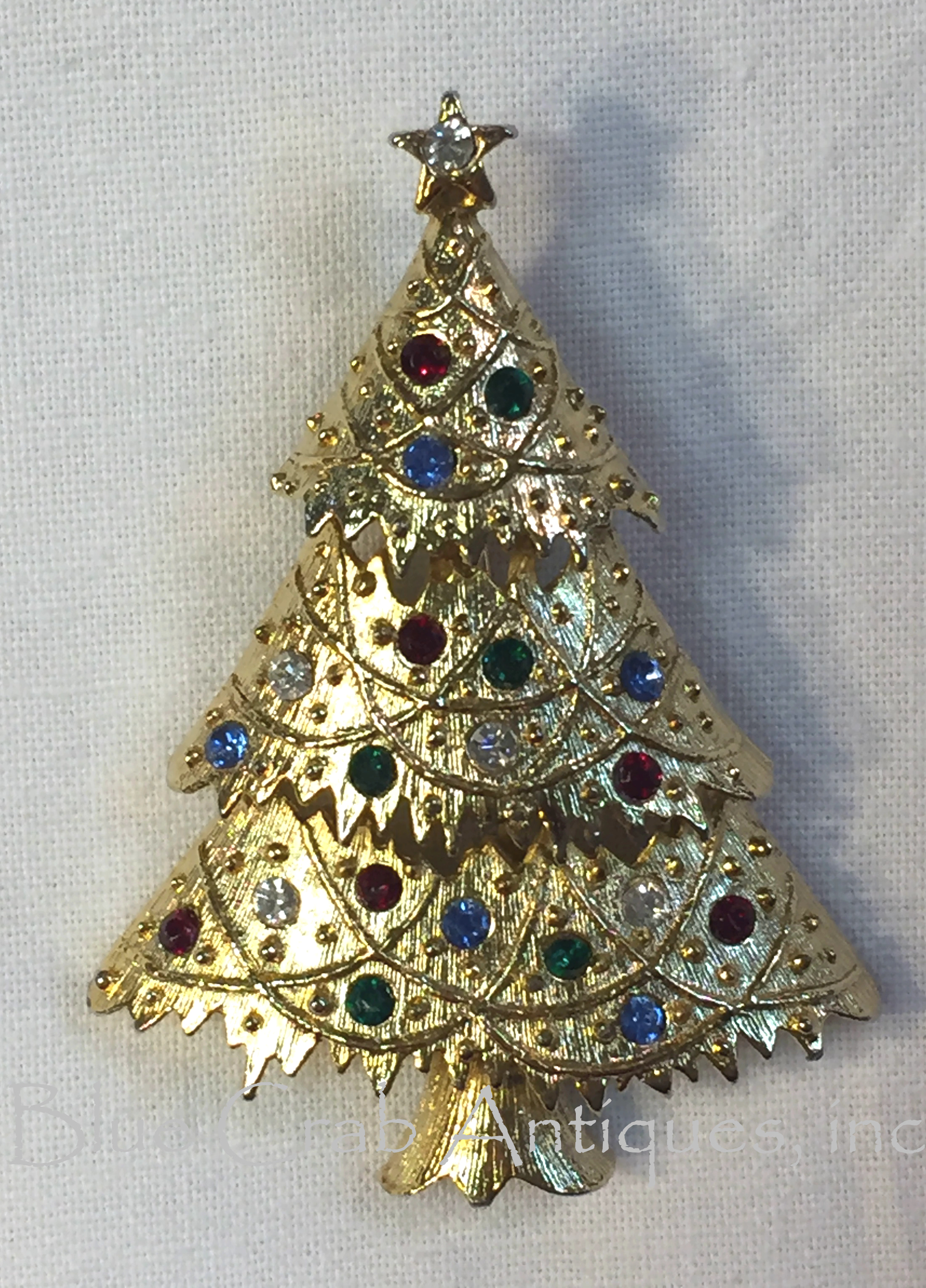 Eisenberg Christmas Tree Pin